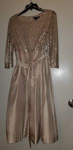 Jessica Howard Champagne dress